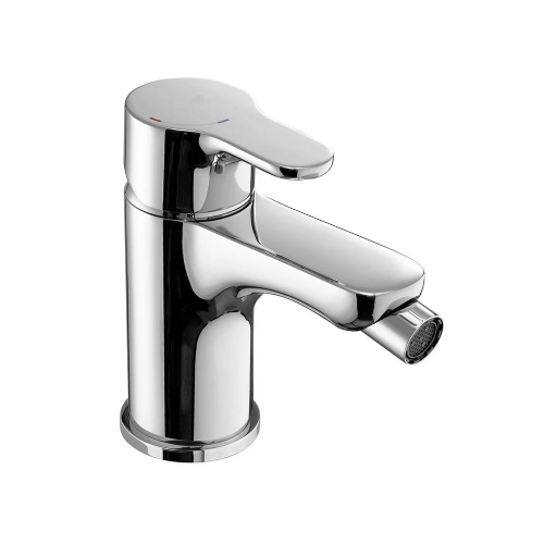 Roca L20 Bidet Mixer Tap With Popup Waste